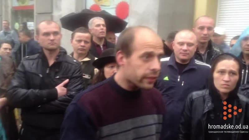 Освобожденный из РУВД активист подтверждает то что проникшие в Дом Профсоюзов майдановцы добивали людей 4 мая 2014 го