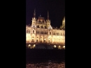 Венгрия. Будапешт. Прогулка на теплоходе по Дунаю. Великолепные виды вечернего города.