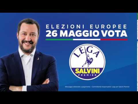 CROLLO DEGLI SBARCHI! ELEZIONI EUROPEE 26 MAGGIO - VOTA LEGA!
