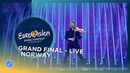 Alexander Rybak - That's How You Write A Song - Norway - LIVE - Grand Final - Eurovision 2018