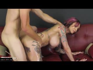 Nathan Bronson & Anna Bell Peaks [ Rape &  Orgasms &  Big boobs &  Casting / Squirt, Cumshot on chest, In condom, Tattoo, bo