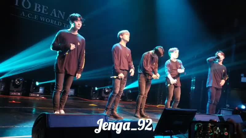 FANCAM | 09.12.18 | A.C.E - 5tar @ Fan-con 'To Be An ACE' in NY