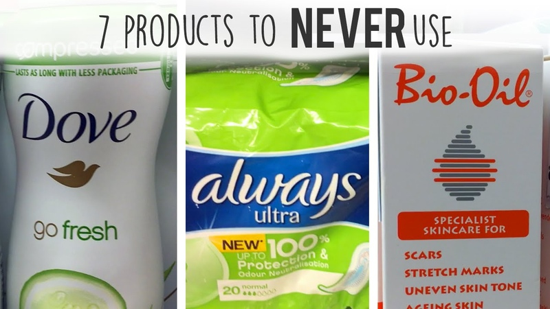 7 personal-care products to NEVER USE