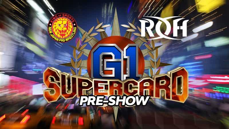 G1 Supercard Pre Show