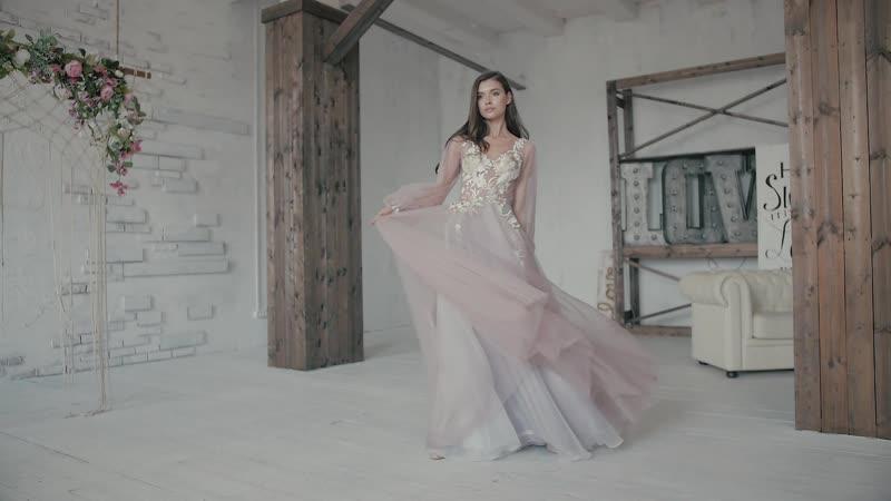 Свадебное платье | Сандал | BonneVille | ARIA DI LUSSO