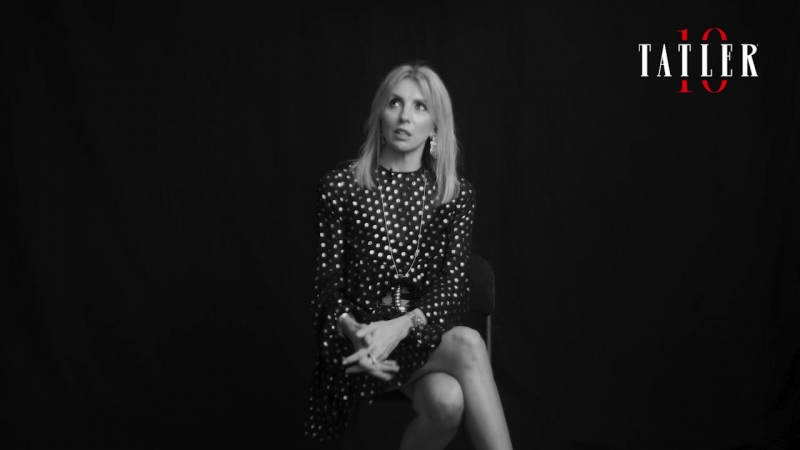 Светлана Бондарчук поздравляет Tatler с юбилеем