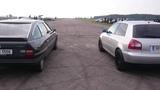 Citroen CX 25 Prestige TURBO 2 vs Audi A3 (modified TDI) sprint