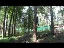 Тренировка по спортивному туризму в веревочном парке Паутина