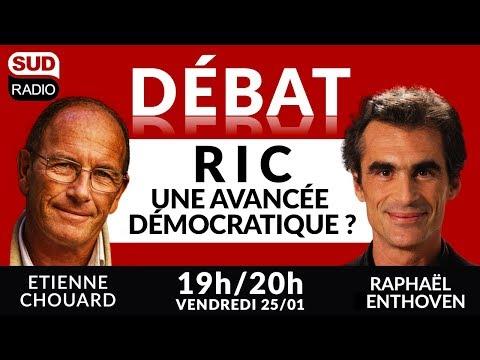 Gilets Jaunes le débat Etienne Chouard Raphaël Enthoven