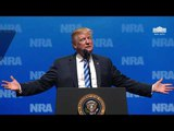 President Trump Gives Remarks at the National Rifle Association Leadership Forum