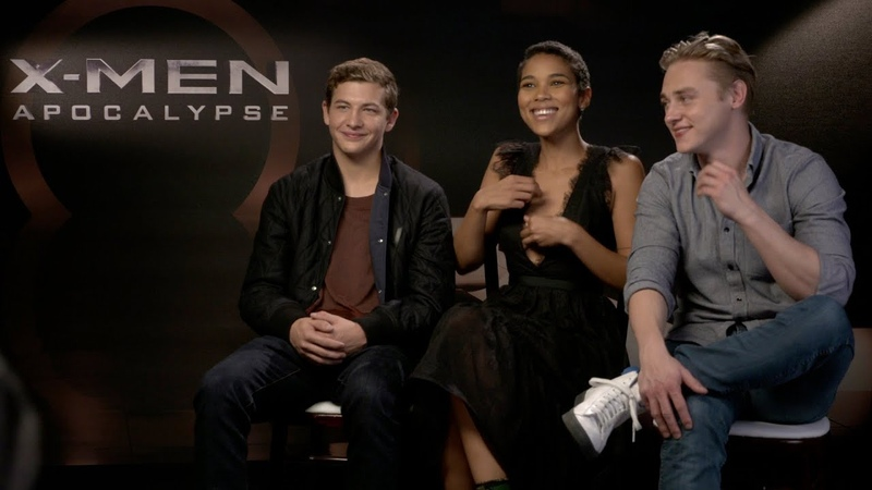 Tye Sheridan, Alexandra Ship Ben Hardy X Men Apocalypse Interview