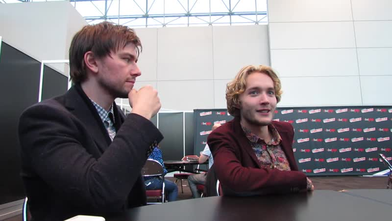 NYCC 2013 - Reign - Torrance Coombs and Toby Regbo