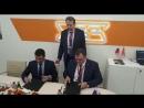 Первые подписания корпорации УВЗ на выставки Иннопром