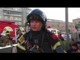 Пожарные ликвидировали возгорание на крыше ТЦ