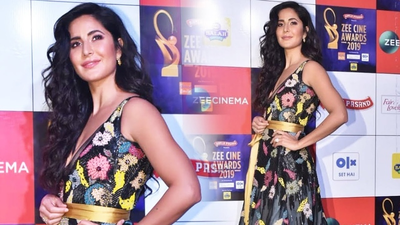 Stunning Katrina Kaif At Zee Cine Awards 2019 Red Carpet
