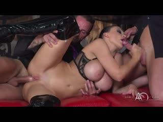 Aletta ocean live - black leather double pleasure (мжм)
