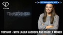 Laura Haddock and Isabela Moner Topshop 7 Question Interview Transformers Stars FashionTV FTV - Video Dailymotion