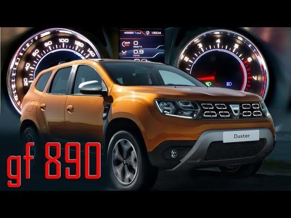 Тюнинг Renault Duster. Новая комбинация приборов GF 890 PH2