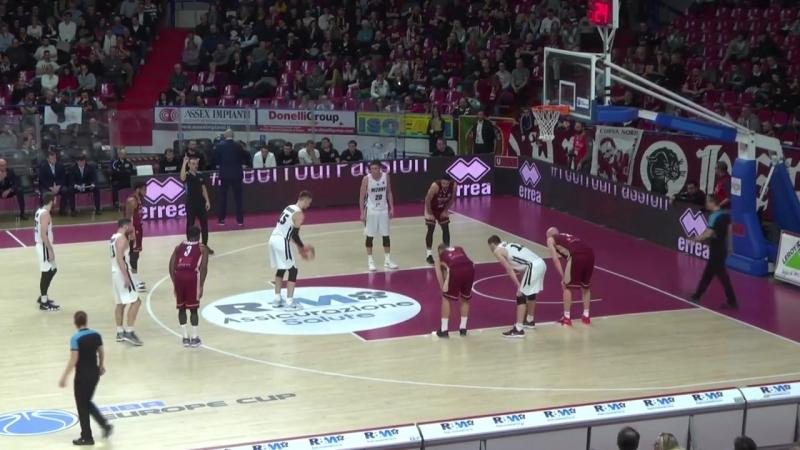 Рейер Венеция - Нижний Новгород (Еврокубок ФИБА 2017-2018) четвертьфинал