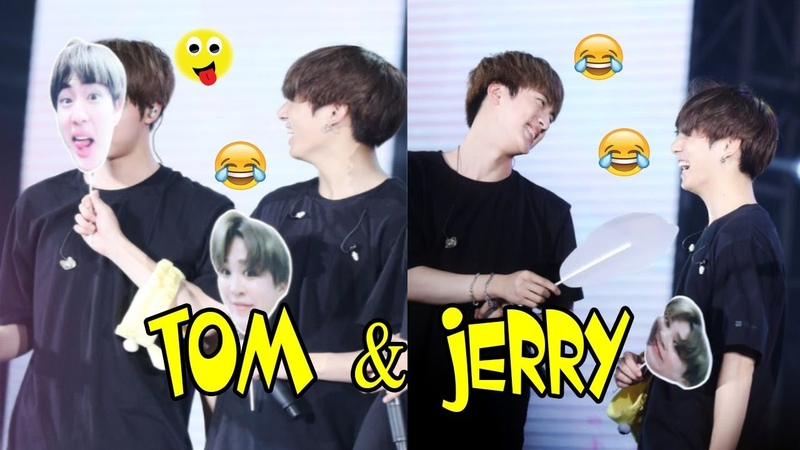 JUNGKOOK and JIN (정국 진 BTS) TOM JERRY Ver.