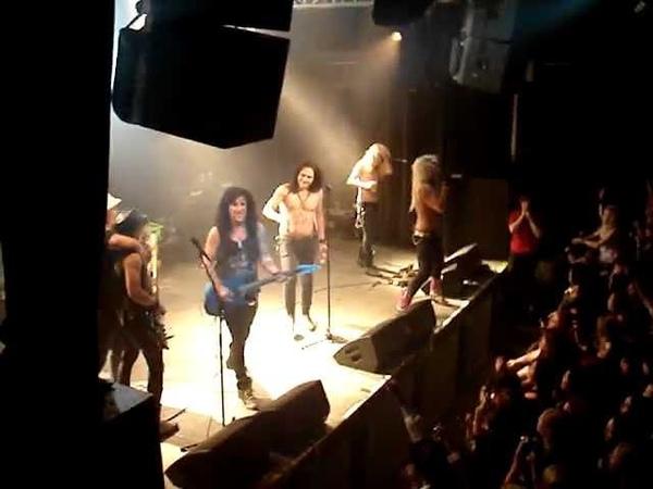 RECKLESS LOVE, SANTA CRUZ - One More Time (Nosturi, Helsinki 8.9.2012)