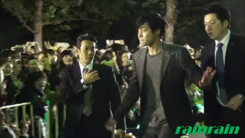 "20150220 KIM HYUN JOONG JAPAN TOUR 2015 ""GEMINI""(Makuhari Messe Event Hall)Seeing off Hyun Joong"