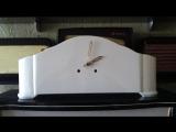 Каминные часы почти отреставрированы,осталось изготовить циферблат,но время уже бьют и ходят...