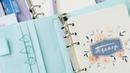 Планер на кольцевом механизме с дизайнерскими страничками