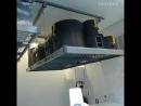 Отличный вариант эргономичного хранения в подсобных помещениях