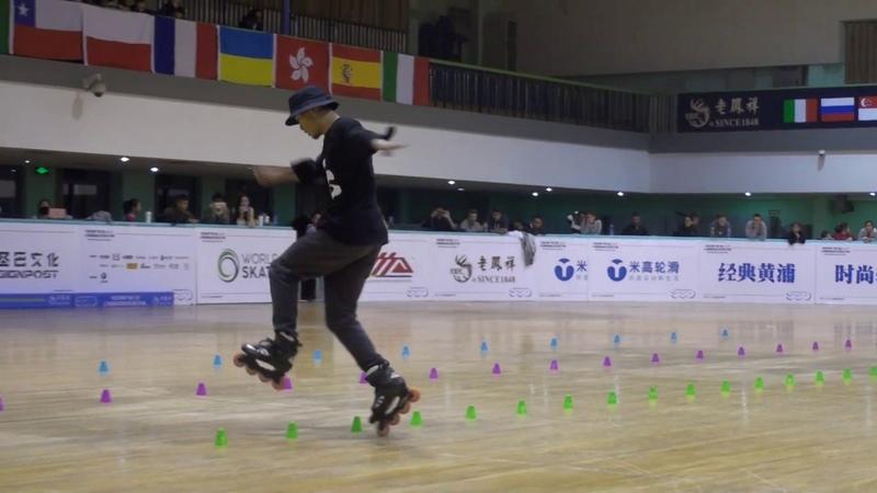 2018 SSO Classic Slalom Senior Men 10th Place Wei Kang (CHN)