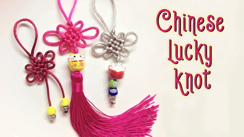 Easy way to make Chinese lucky knot most popular and old macrame patter thắt nút đồng tâm