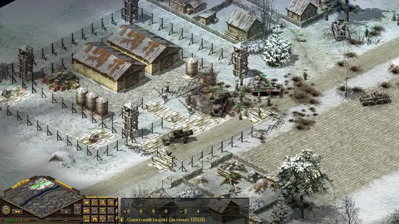 Блицкриг — 102 Перехват бронетанковой группировки