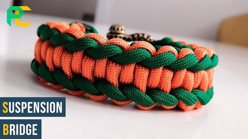 How to make Suspension Bridge | Paracord Bracelet tutorial
