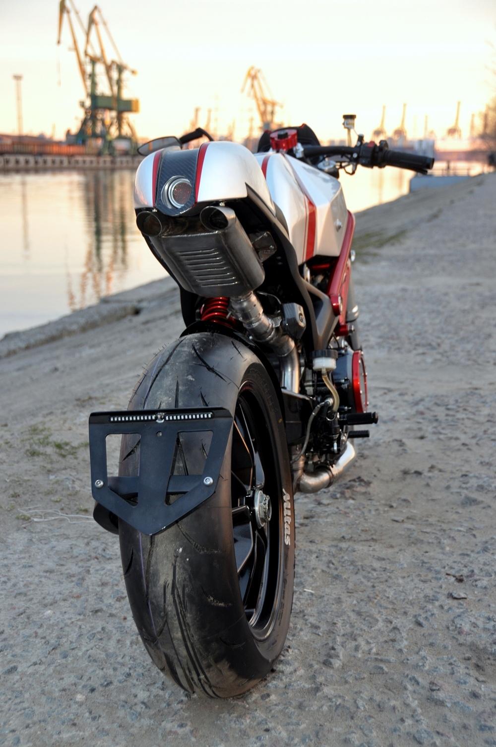 Drive-in Workshop: кастом Ducati 796 X (102 фото)