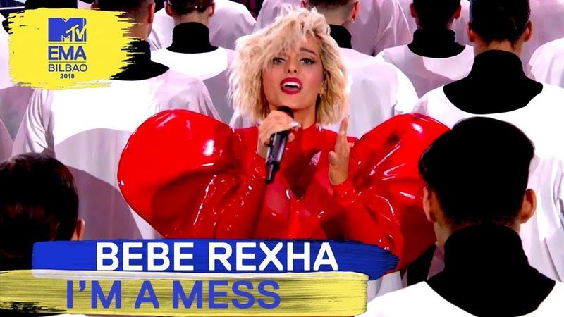 Bebe Rexha - I'm a Mess Live | MTV EMAs 2018