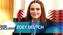Zoey Deutch Thinks More People Should Play Accordions on First Dates