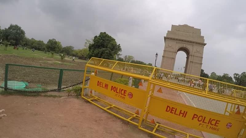 New Delhi, city center