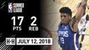 Desi Rodriguez Full Highlights vs Lakers (2018.07.12) NBA Summer League - 17 Pts, 2 Reb