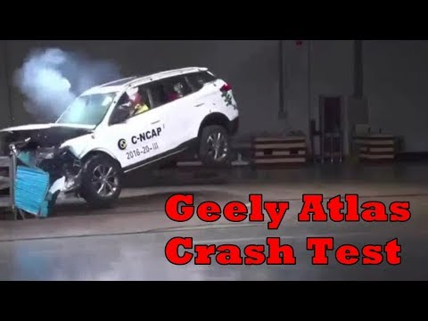 Geely Atlas Crash Test - Краш Тест
