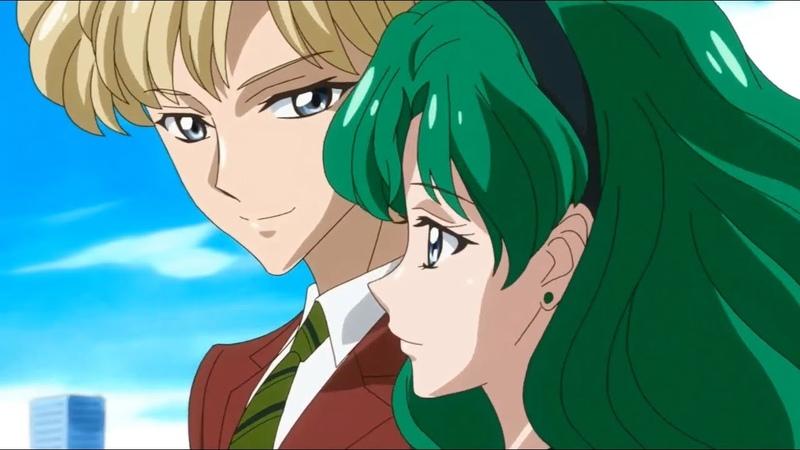 Sailor Moon Crystal Season III - Haruka Tenoh 💕 Michiru Kaioh | ENG Dubbed