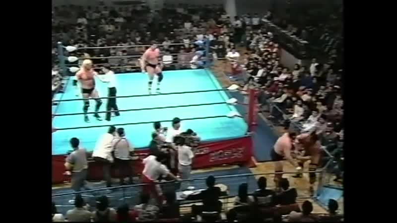 1997.11.16 - Barry Windham/Justin Bradshaw vs. Stan Hansen/Bobby Duncum Jr.