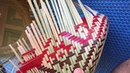 Homemade creative handicraft from bamboo bali