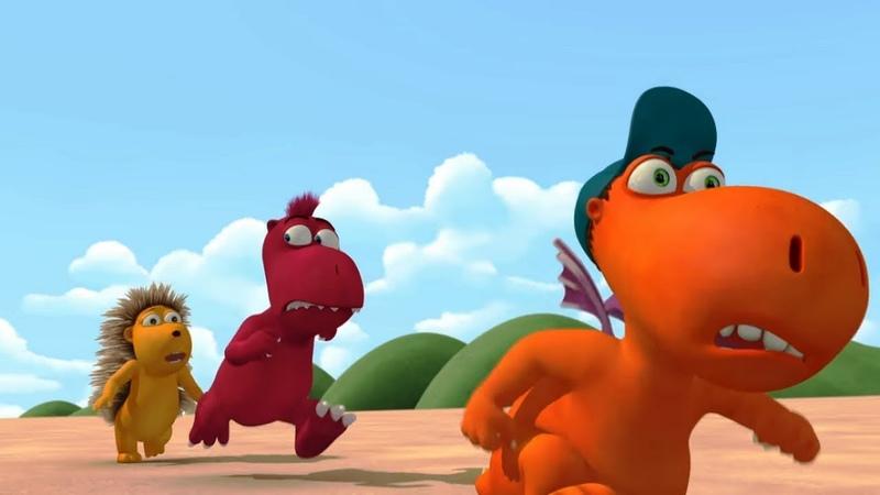 Мультики для детей - Кокоша, маленький дракон - Возвращение бабули - Серия 39
