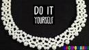 Колье из Бусин Мастер Класс! Ожерелье из Бусин Своими Руками/ Tutorial: Necklace from Busin!