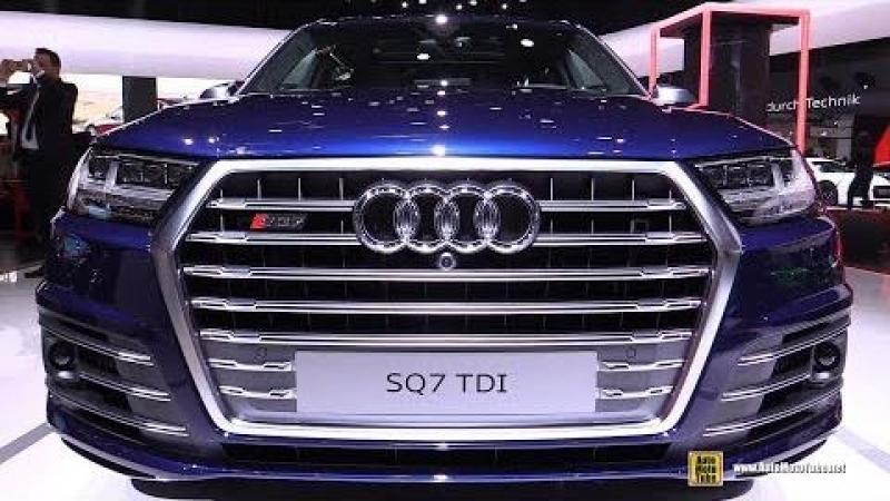 2018 Audi SQ7 TDI - Exterior and Interior Walkaround - 2018 Geneva Motor Show