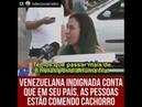 Venezuelanos estão comendo cachorro e Rato