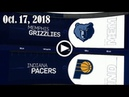 2018.10.17 NBA DAILY RECAP MEM @ IND