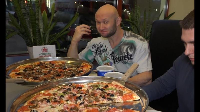 Юрий Спасокукоцкий • Юрий Спасокукоцкий Pizza Challenge! Заруба на Пиццах! ПИЦЦА ЧЕЛЛЕНДЖ - ВЫЗОВ