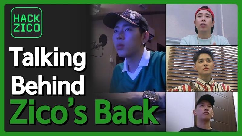 Talking Behind ZICO's Back (Feat. P.O., DEAN, Crush) [Hack Zico] EP.05 • ENG SUB • dingo kdrama