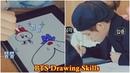 BTS (방탄소년단) Drawing Skills